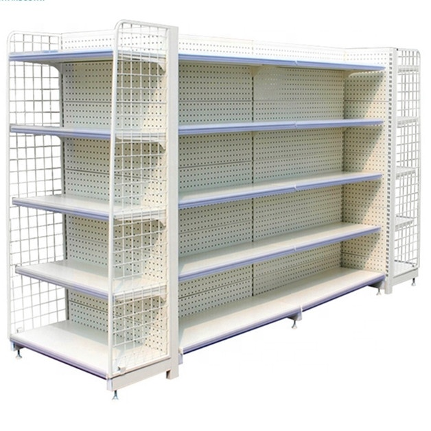 Supermarket daily necessities display 4-7 layers shelves