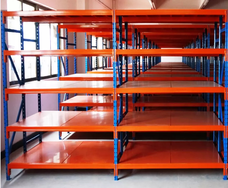 Cheap new design heavy duty stock shelves China supplier wholesale cheap