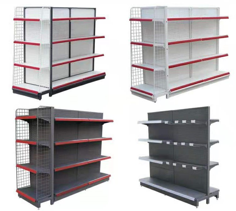 high popular supermarket display shelf rack