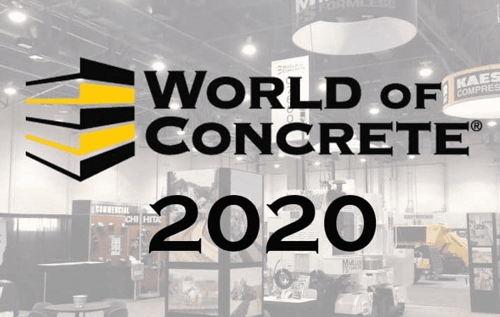 World of Concrete 2020 Las Vegas