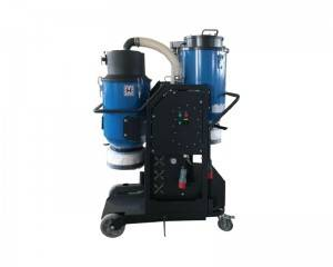 AC800 3 phase Auto pulsing dust extractor with separator