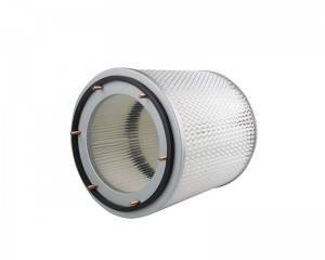 Filter for motor driven cleaning