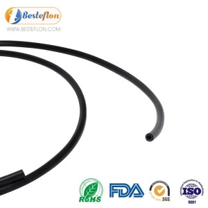 China Supplier Corrugated Ptfe Tube - Black ptfe tubing High Quality Durable black plastic pipe Temperature Resistance Black Conductive   | BESTEFLON – Besteflon