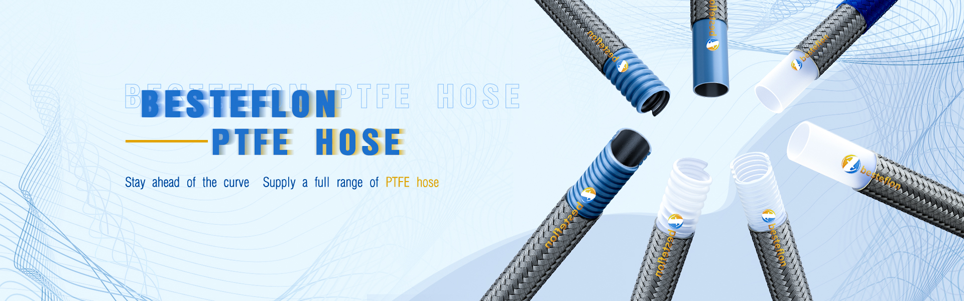 PTFE smooth bore hose