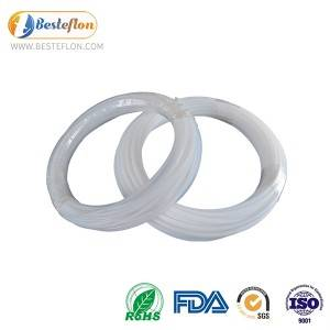 Europe style for Ptfe Heat Shrinkable Tubing - Ptfe Tubing milky White Extruded Ptfe Tubing Ptfe Hose Pure  | BESTEFLON – Besteflon