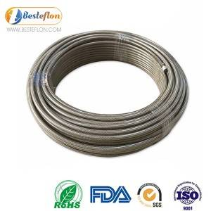 6an Ptfe Fuel Line high pressure stainless steel braided | BESTEFLON