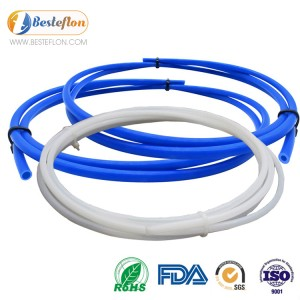 OEM/ODM Factory 4mm Ptfe Tubing - Ptfe Tube For 1.75mm Filament and 3D printer | BESTEFLON – Besteflon
