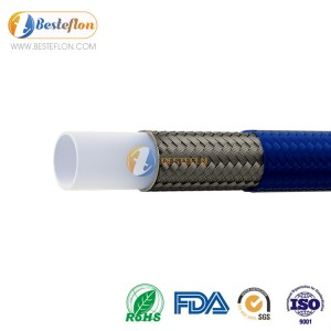 Covered ptfe hose for Mold temperature machine | BESTEFLON