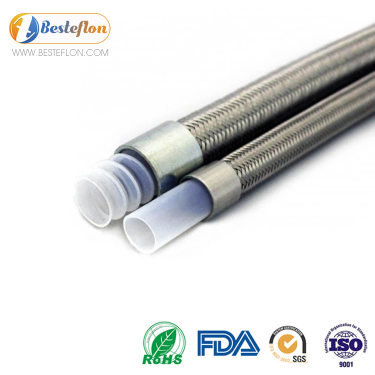 high pressure braided hose ptfe corrugated factory | BESTEFLON Featured Image