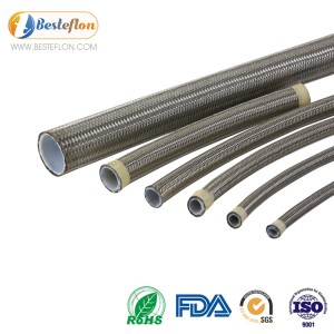 Black ptfe hose for Automobile industry | BESTEFLON