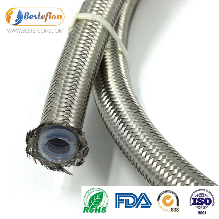 Corrugated ptfe hose manufacturers SAE 100R14 | BESTEFLON Featured Image