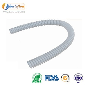 corrugated ptfe tube high temperature China | BESTEFLON