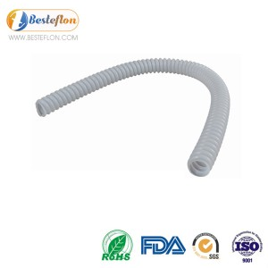 PTFE corrugated tube for feeding | BESTEFLON