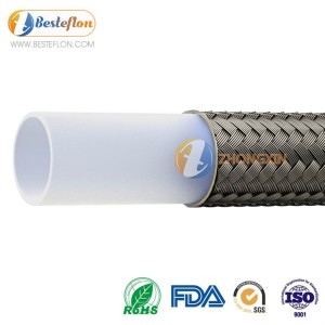 PTFE hose for industrial or food processing application CHINA FACTORY FOR HYDRAULIC SYSTEM | BESTEFLON