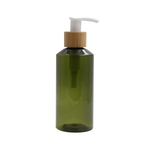 biodegradable plastic bamboo pump bottle