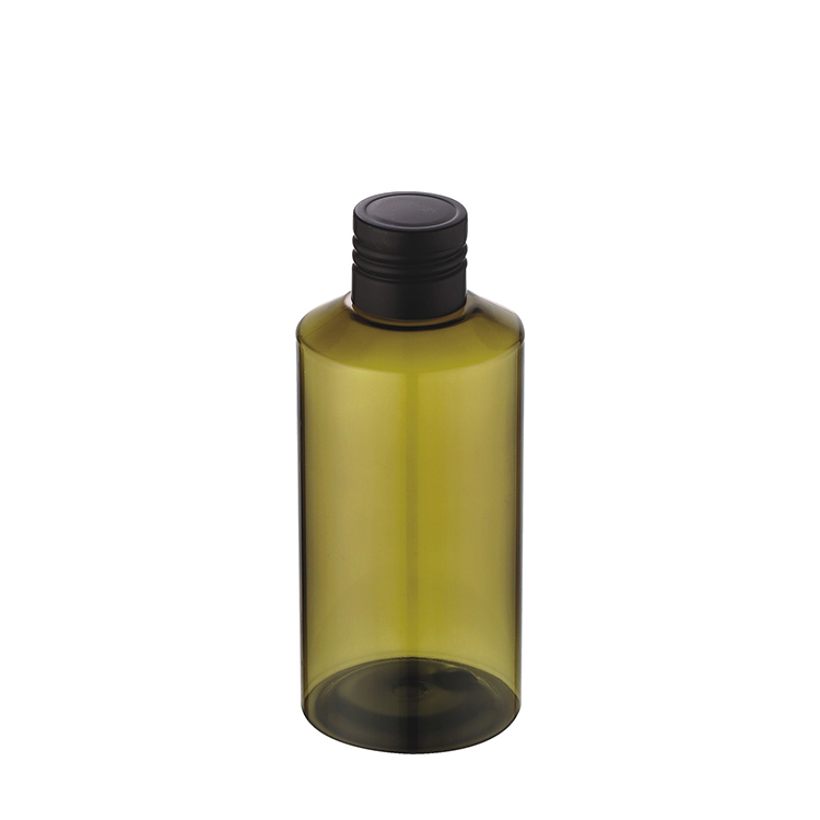 150ml green plastic bottle with lid