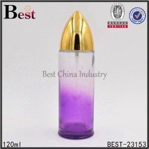 cylinder perfume bottle 120ml