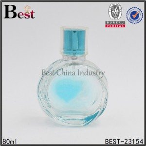 round shaped perfume bottle 80ml