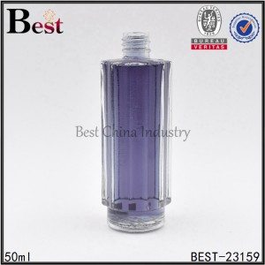 clear perfume bottle 50ml
