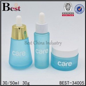 glass dropper bottle and glass jar 30/50ml, 30g