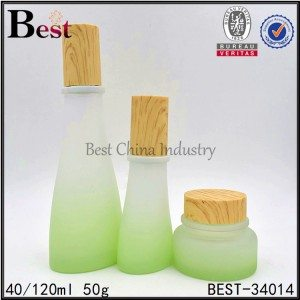 shaped glass bottle and jar 40/120ml, 50g