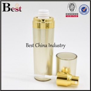 gold acrylic lotion bottle 50ml