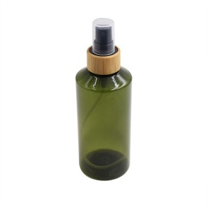 150ml cosmetic spray bottle with bamboo