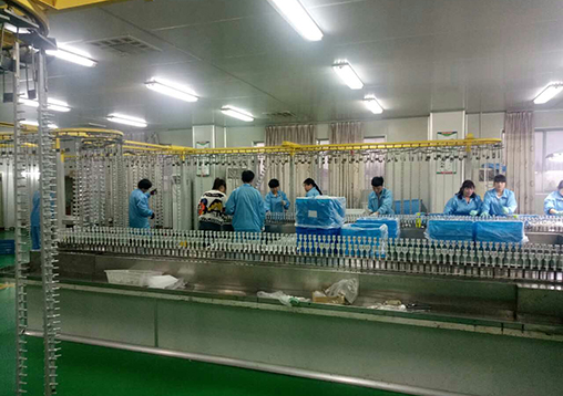 glass bottle factory China