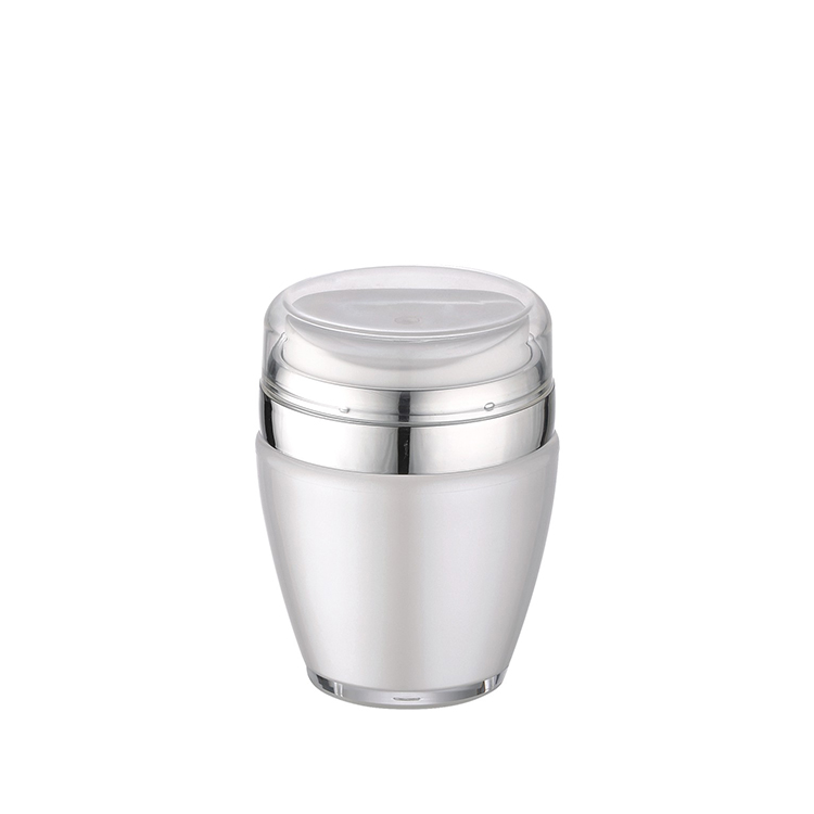 luxury airless pump cosmetic jar