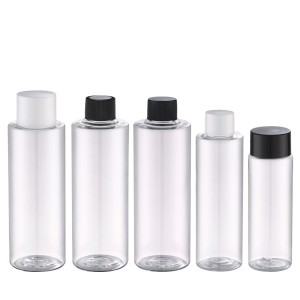 150ml clear plastic bottle