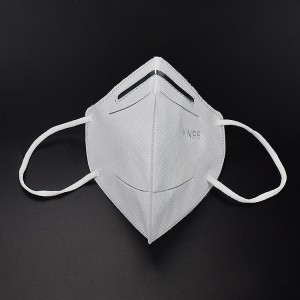 Factory stocks white kn95 mask with filter