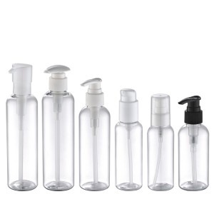clear plastic bottle for liquid soap