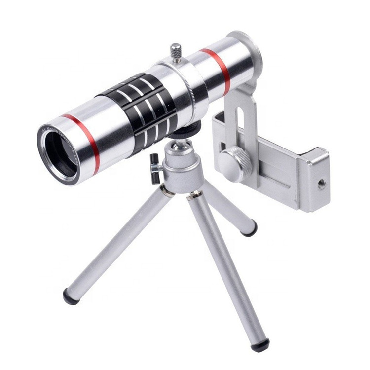 Universal 18x Optical Telescope Mobile Lens With Tripod,  Zoom Phone Lens For Samsung Galaxy S6