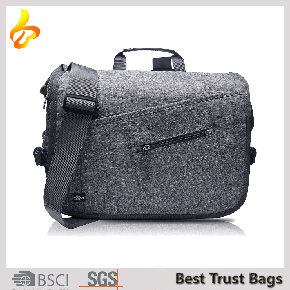 "Top Quality Computer Vintage Canvas Shoulder Bag Men Messenger For 15"" Laptop"