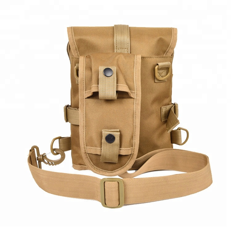 Hot Style Single Shoulder Sport Waterproof Canvas Tactical Gear Army Sling Chest Bag