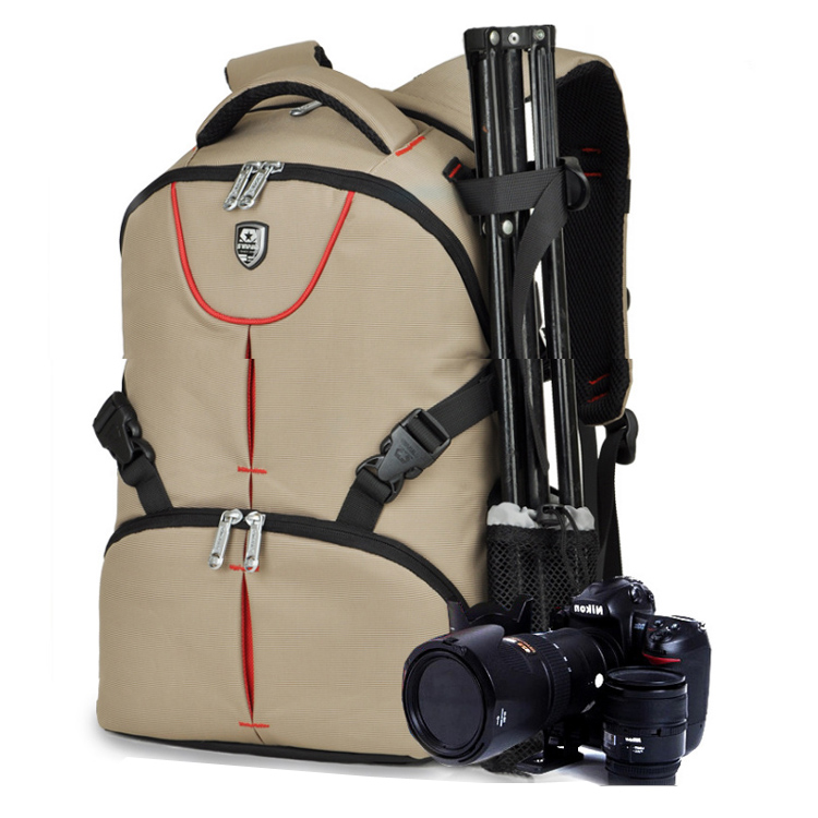 Portable Waterproof Scratch-proof Outdoor Backpack Soft Bag Digital Camera Backpack