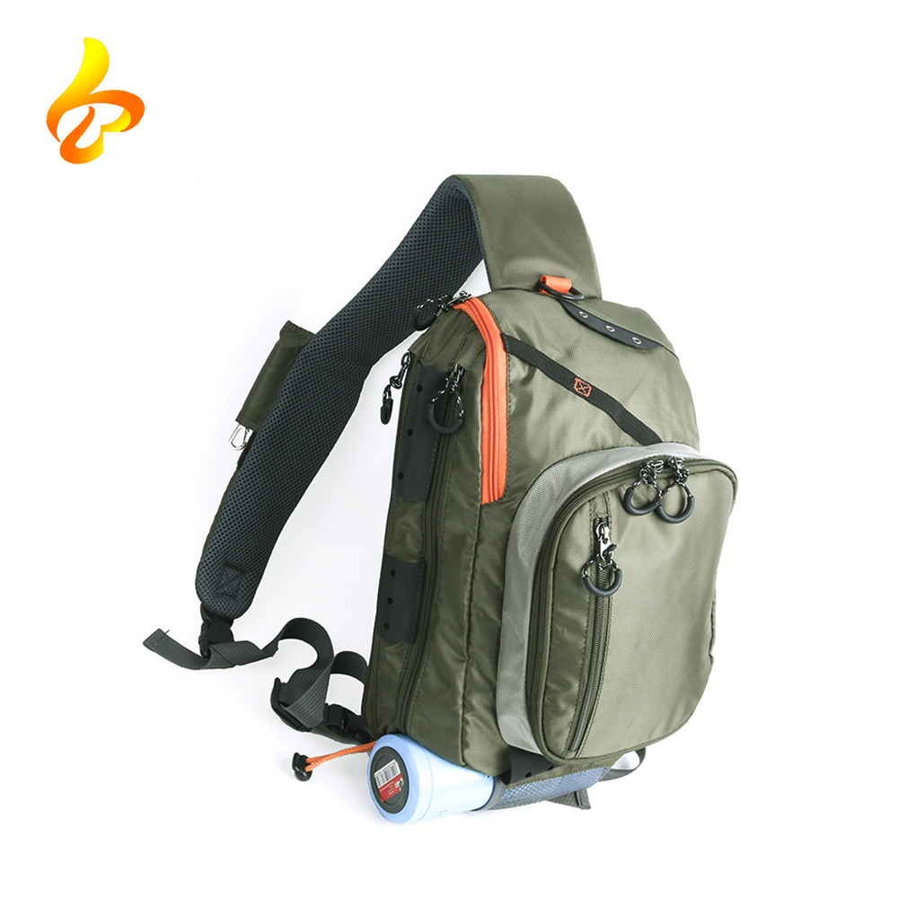 China Wholesale Muti-Purpose Sports Shoulder Bag Fishing Tackle Bag Crossbody Messenger Sling Bags
