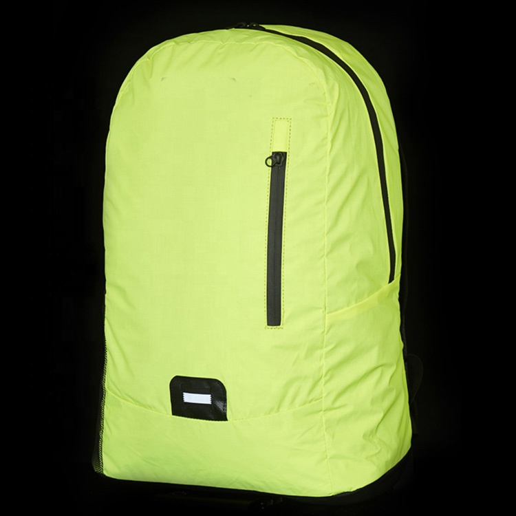 New Design Wholesale Travel Dry Bag Backpack Fluorescence Safety High Visibility Reflective Backpack