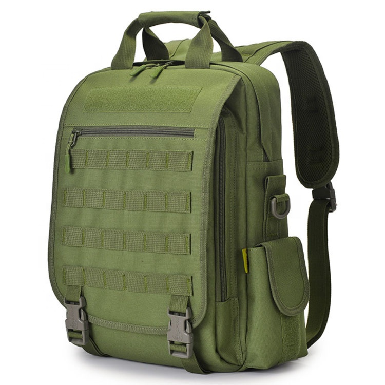 Camouflage 900D Nylon Strong Water Resistance PVC USB Charge Bug Out Bag Molle Backpack Tactical for Laptop