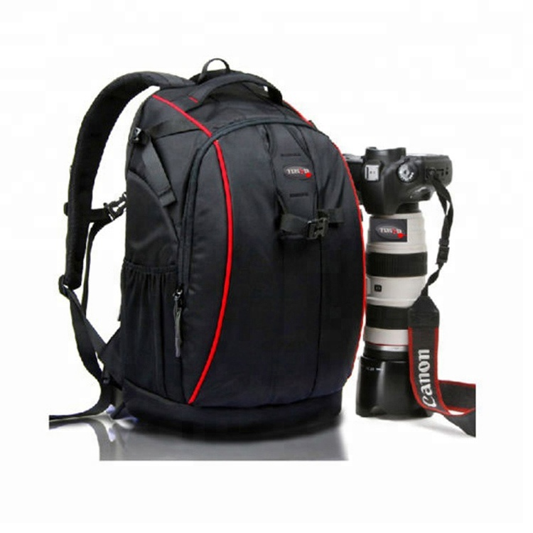 Portable Waterproof Shockproof Camera Backpack Bag for DSLR Camera, Lens and Accessories