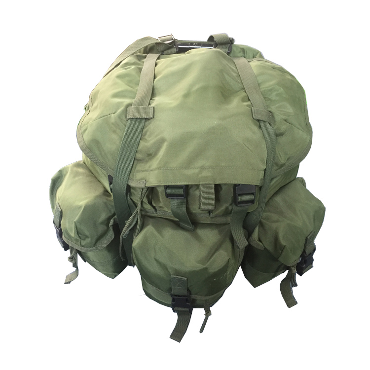 Backpack Alice Multi-purpose Many Pockets Durable Army Green Folding Fishing Backpack with Chair