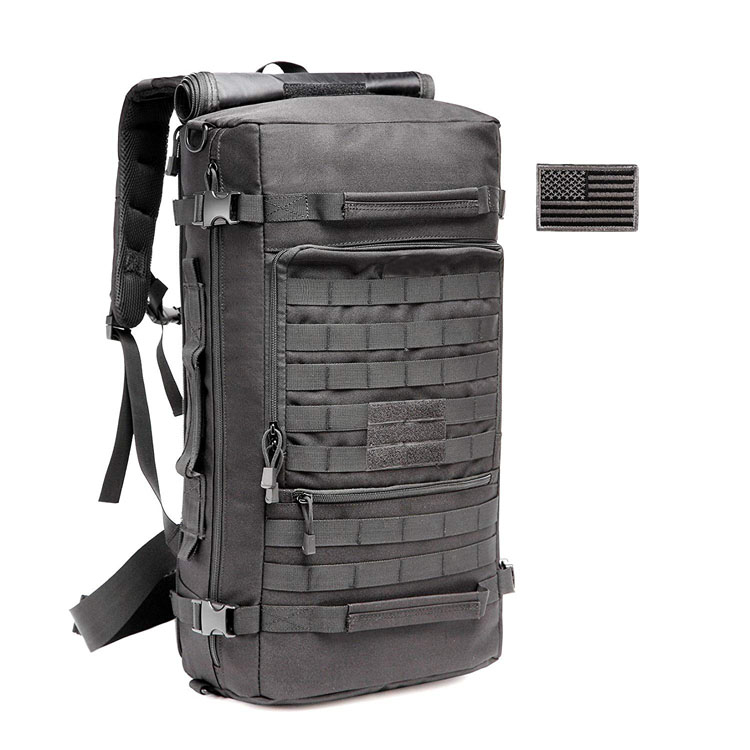 Hot Sale 50L Multi-Fonctionnement ass Sin Travel Bag MOLLE waasserdicht Taktesch Military Rucksak Fir Wanderen Juegd Camping