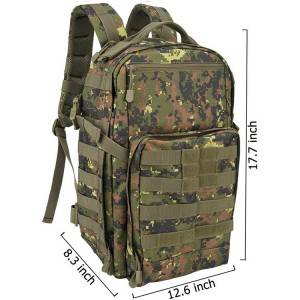 25L Tactical Backpack Digital Camouflage For Hunting Hiking