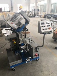 GMMA-100D Efficiency steel beveling machine with double heads