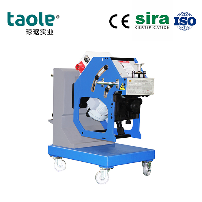 GBM-12D-R V&X type joint plate beveling machine Featured Image