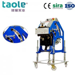 GBM-16D heavy duty steel plate beveling machine