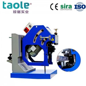 GBM-16D-R double side bevel cutting machine