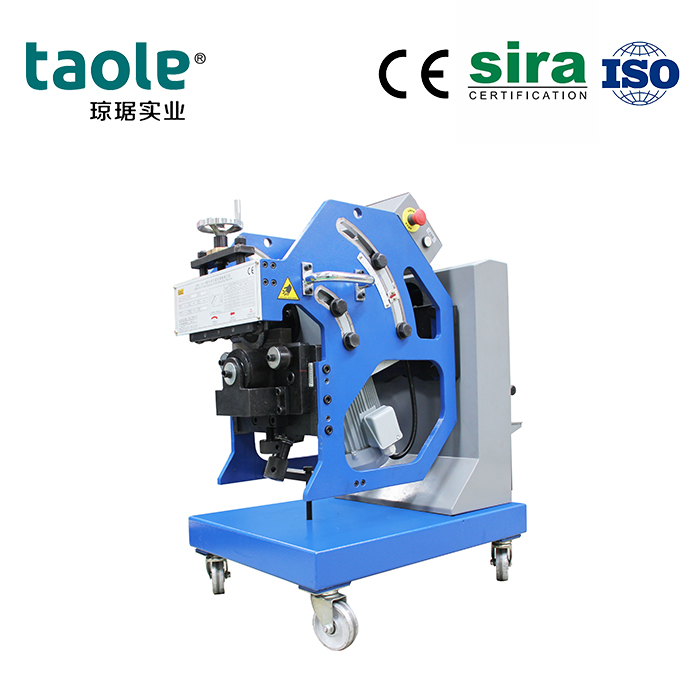 GBM-16D-R double side bevel cutting machine Featured Image