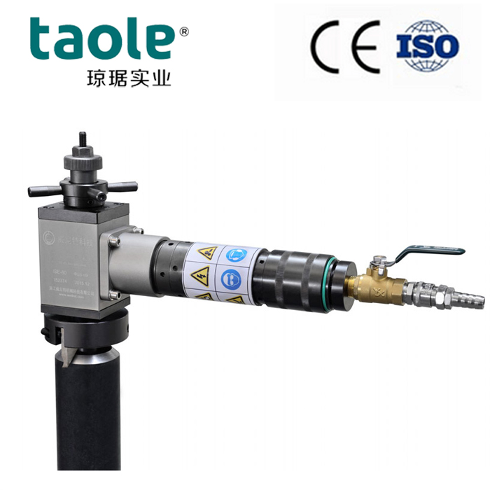 ISP-80 Pneumatic pipe bevelling machine Featured Image