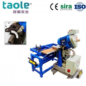 Steel plate bevel machine for fabrication prep